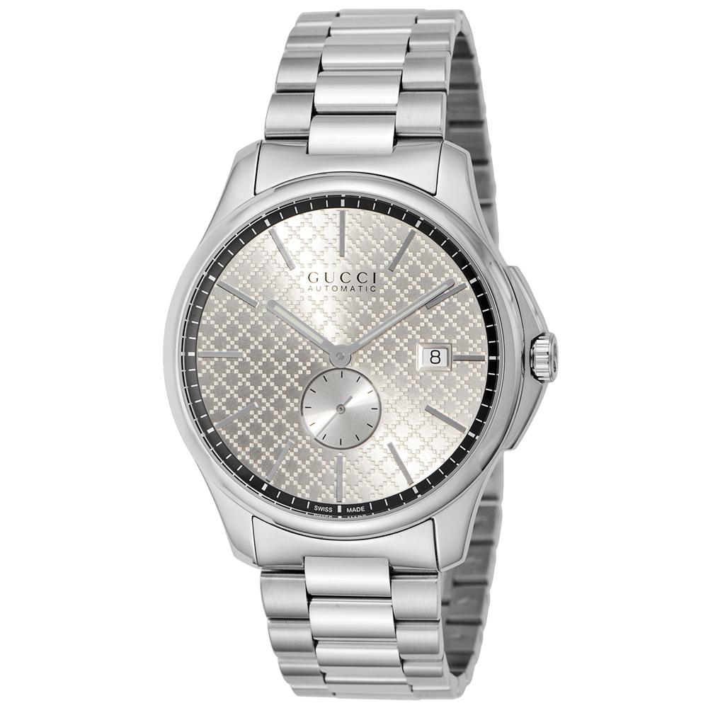 グッチ GUCCI 腕時計 メンズウォッチ 【Gタイムレス】 YA126320 シルバー 【wcm】