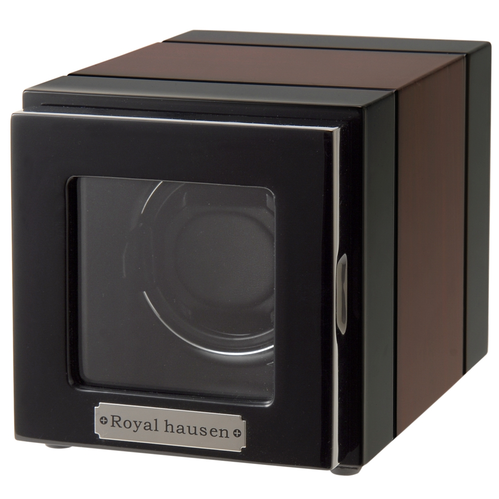 ロイヤルハウゼン ウォッチワインダー 時計 ワインディングマシーン GC03-S21EB 1本巻き BLACK BRONW wcm 直営店 ROYAL 安全 HAUSEN wcl