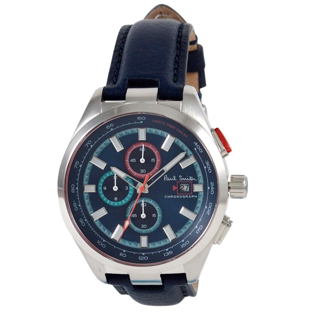 ポールスミス 腕時計 メンズウォッチ PS0110012 BLUE/BLACK PAUL SMITH 【wcm】