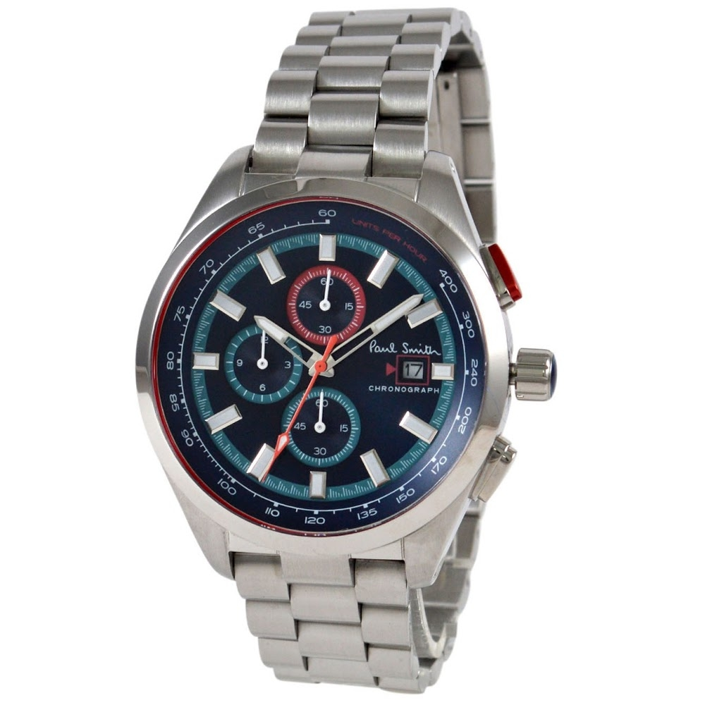 ポールスミス 腕時計 メンズウォッチ PS0110017 BLUE/SILVER PAUL SMITH 【wcm】