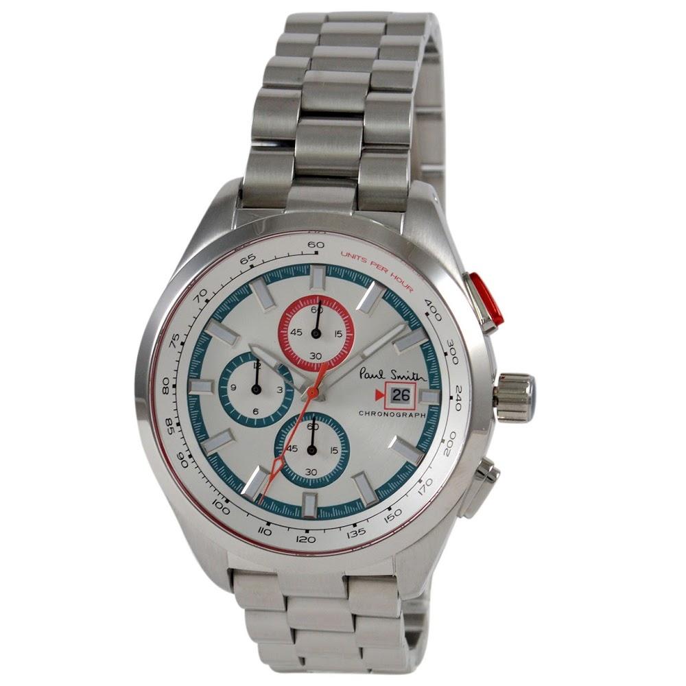 ポールスミス 腕時計 メンズウォッチ PS0110018 SILVER/SILVER PAUL SMITH 【wcm】