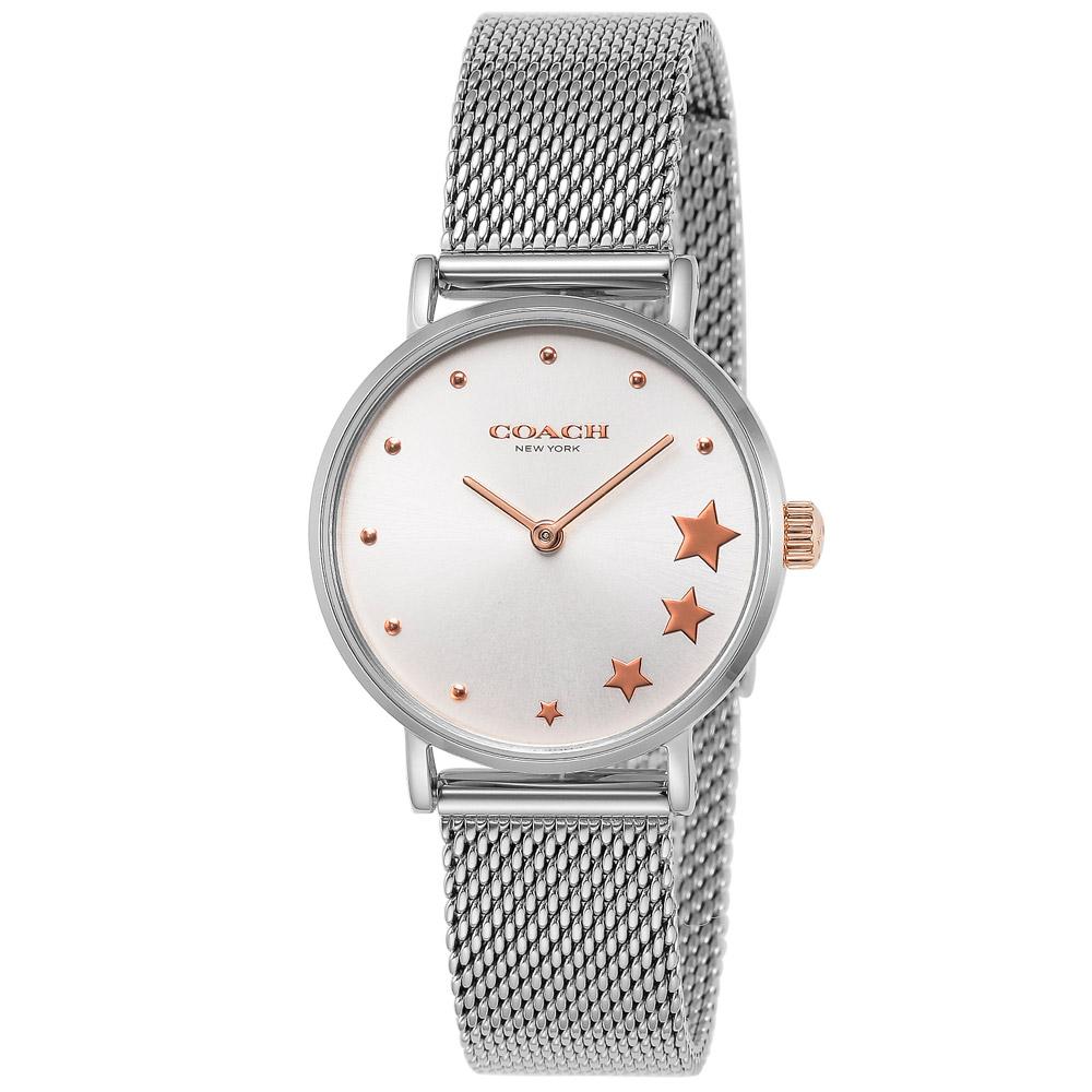 コーチ 腕時計 レディースウォッチ PERRY 14503519 SILVER/SILVER COACH