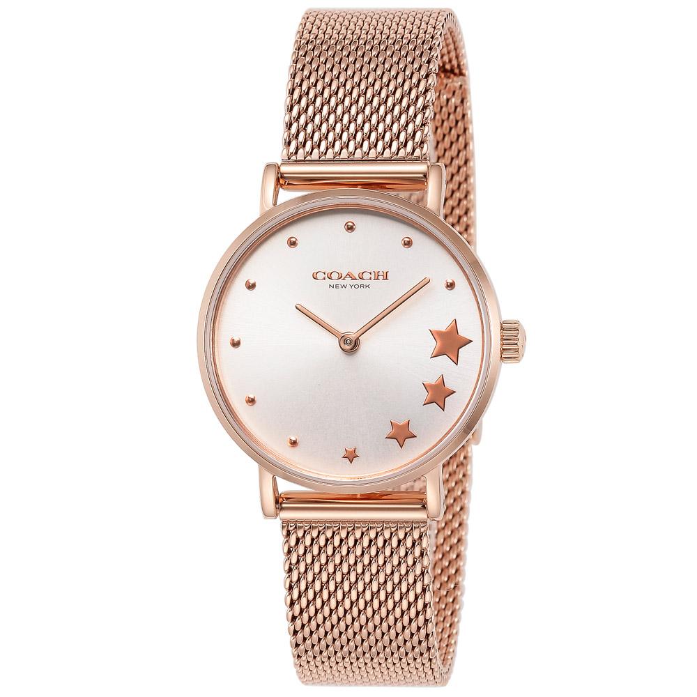 コーチ 腕時計 レディースウォッチ PERRY 14503520 SILVER/PINKGOLD COACH