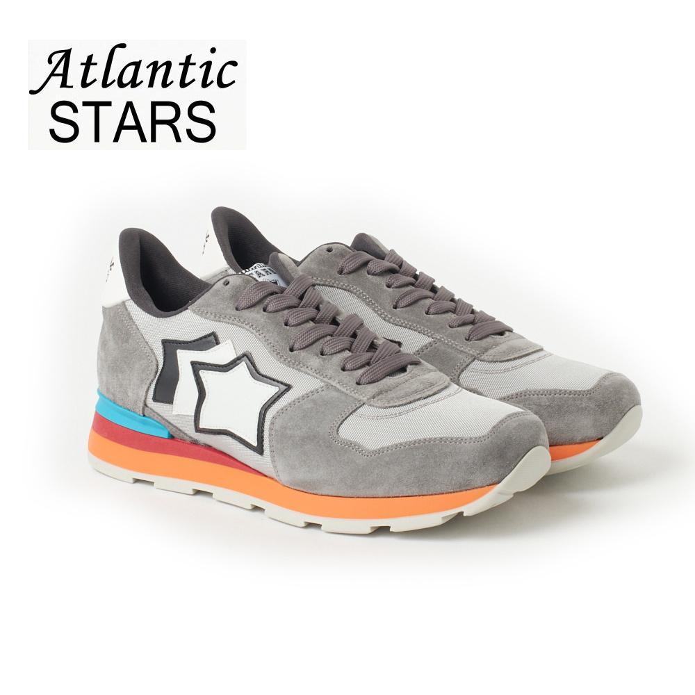 アトランティックスターズ メンズ スニーカー ATLANTIC STARS ANTARES CS 85C グレー