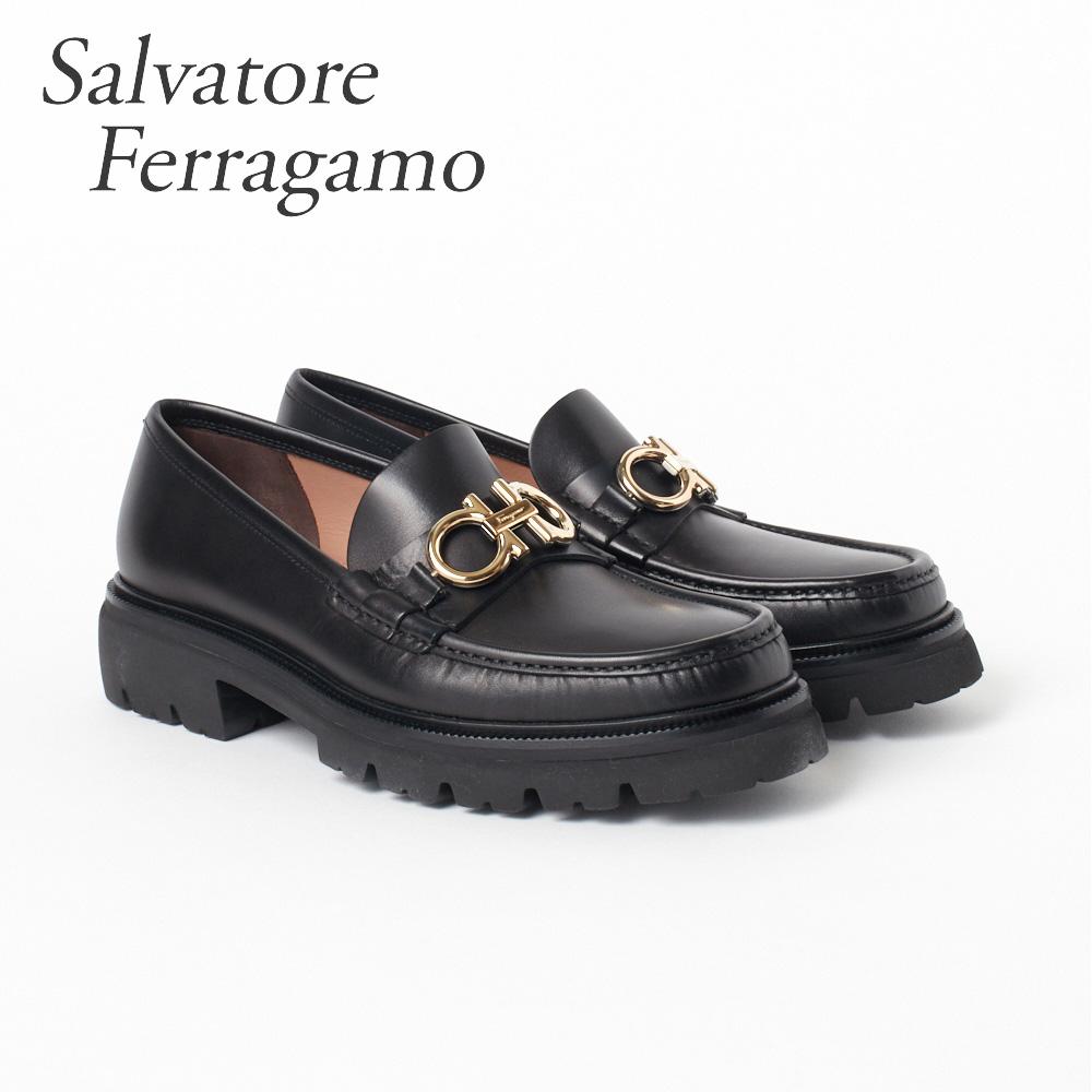 フェラガモ 靴 メンズ ビジネスシューズ ローファー FERRAGAMO 【BLEEKER】 02B200 0696083 ブラック(NERO) 【shm】【zkk】