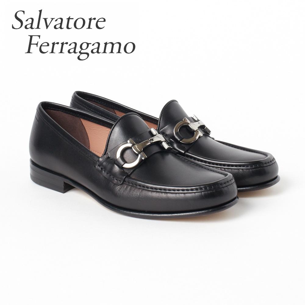 フェラガモ 靴 メンズ ビジネスシューズ ローファー FERRAGAMO 【BOND】 02B192 0696001 ブラック(NERO) 【shm】【zkk】