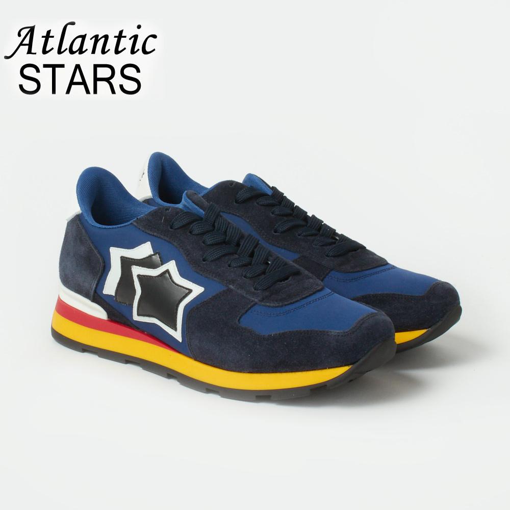 アトランティックスターズ メンズ スニーカー ATLANTIC STARS ANTARES AAB 89B BLUE 【zkc】【ams】
