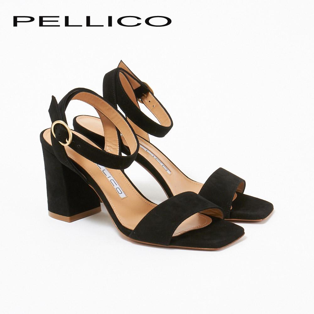 ペリーコ サンダル 6337 SILVER80 ブラック(CAMOSCIO NERO) PELLICO 【zkk】【sws】