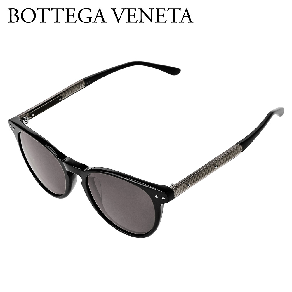 ボッテガヴェネタ メンズ サングラス 【ASIAN FIT】 BV0128SA ブラック(001 BLACK) BOTTEGA VENETA 【zkk】