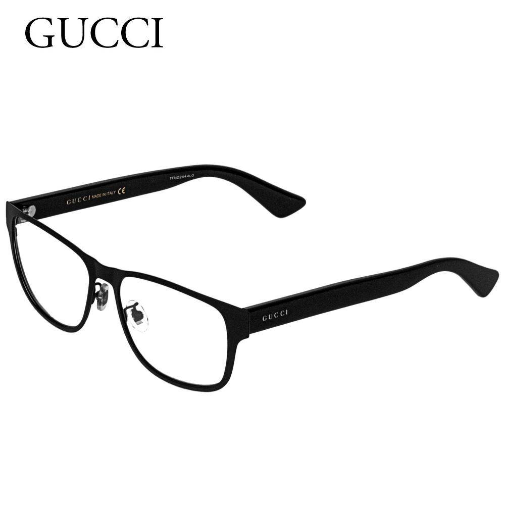 グッチ メンズ メガネフレーム 【INTERNATIONAL FIT】 GG0007O ブラック(001 BLACK) GUCCI 【zkk】