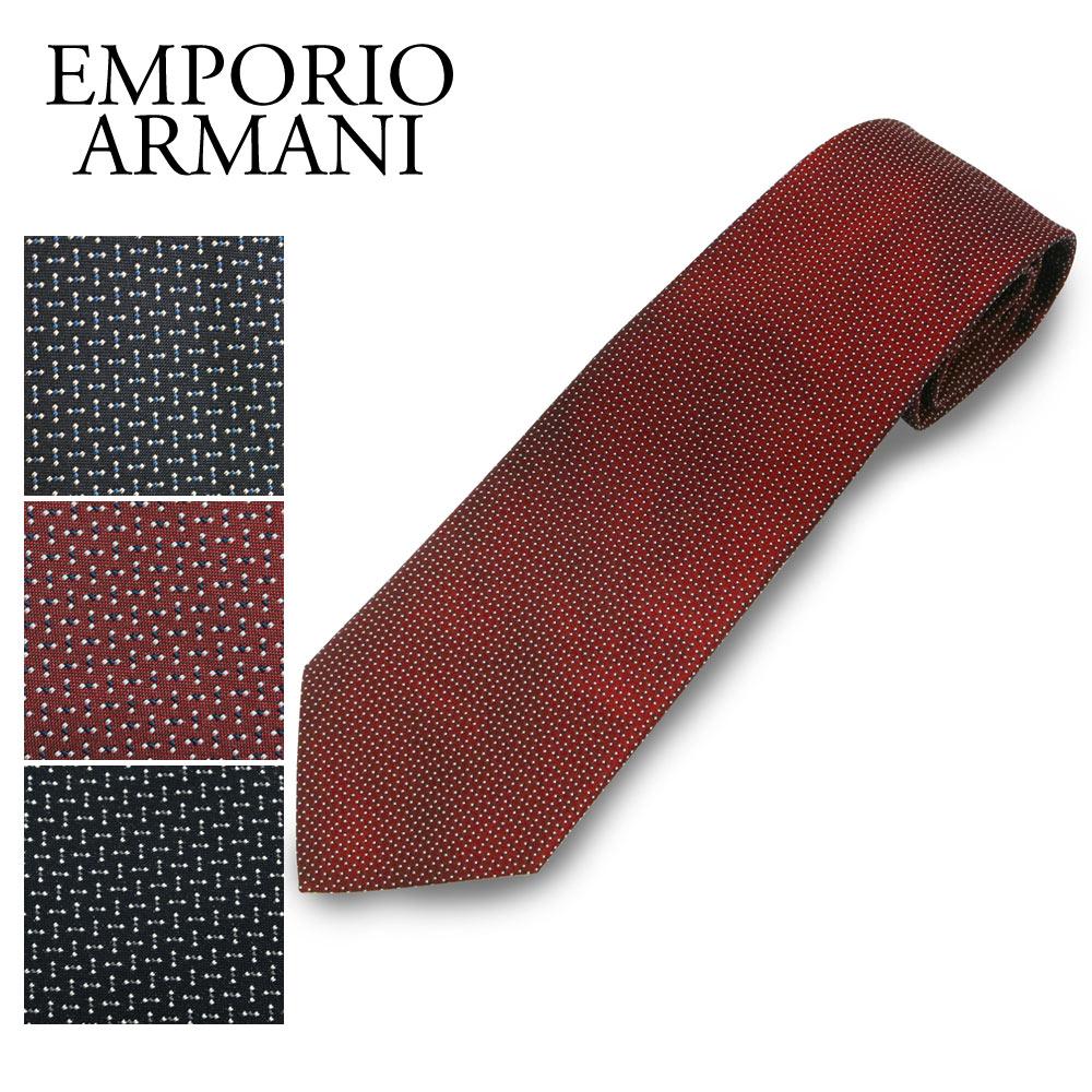 エンポリオアルマーニ ネクタイ 0P315 選べるカラー EMPORIO ARMANI