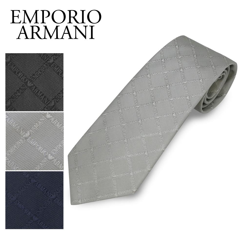 エンポリオアルマーニ ネクタイ 8P615 選べるカラー EMPORIO ARMANI