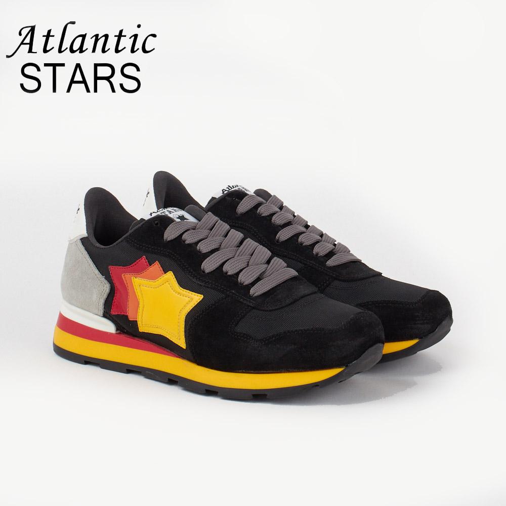 アトランティックスターズ メンズ スニーカー ATLANTIC STARS ANTARES NCB 89B BLK 【shm】【zkk】【sws】