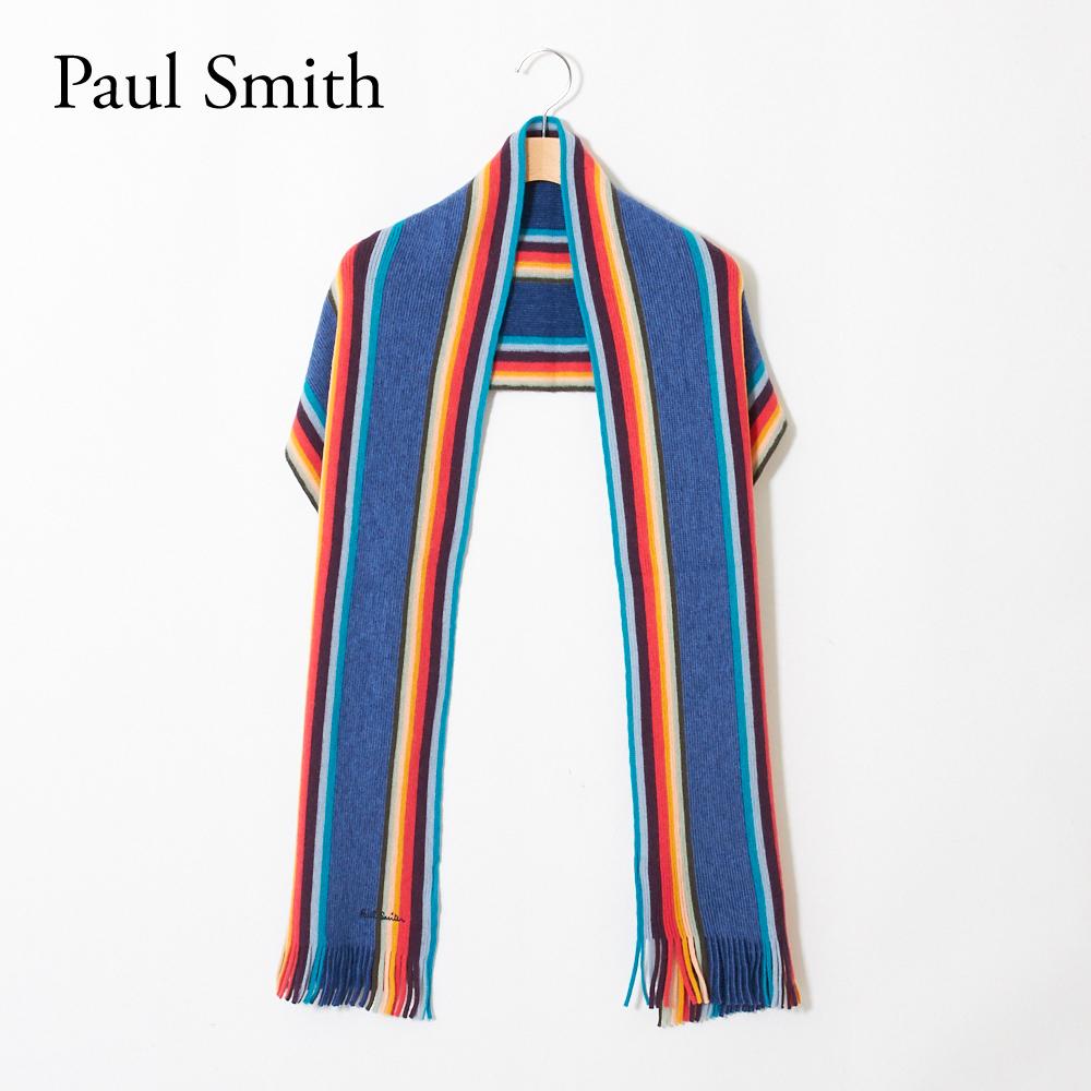 ポールスミス PAUL SMITH マフラー M1A357E AS10 マルチカラー(47) 【msm】