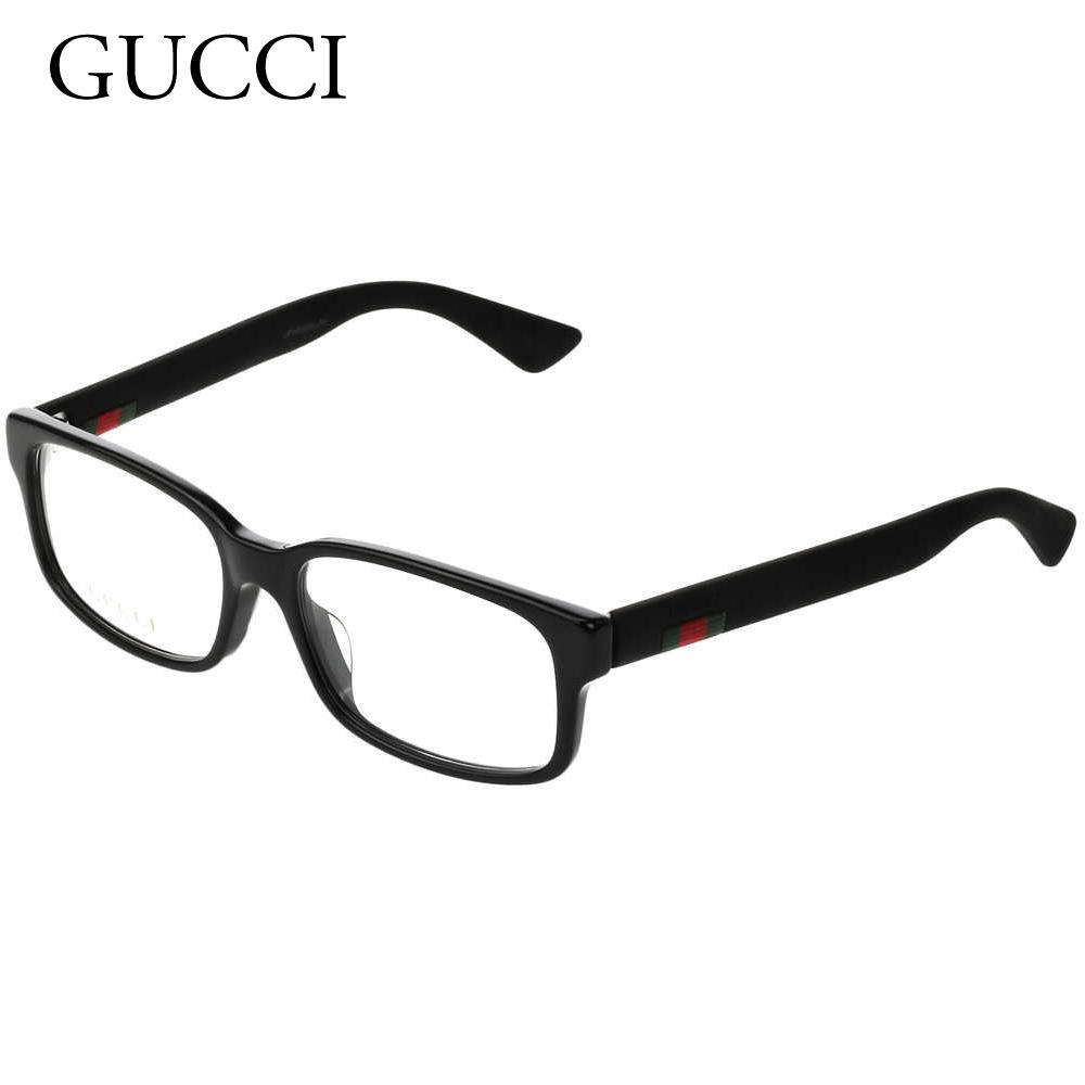 グッチ メンズ メガネフレーム 【ASIANFIT】 GG0012OA ブラック(001 WEB BLACK) GUCCI 【sef】【zkk】