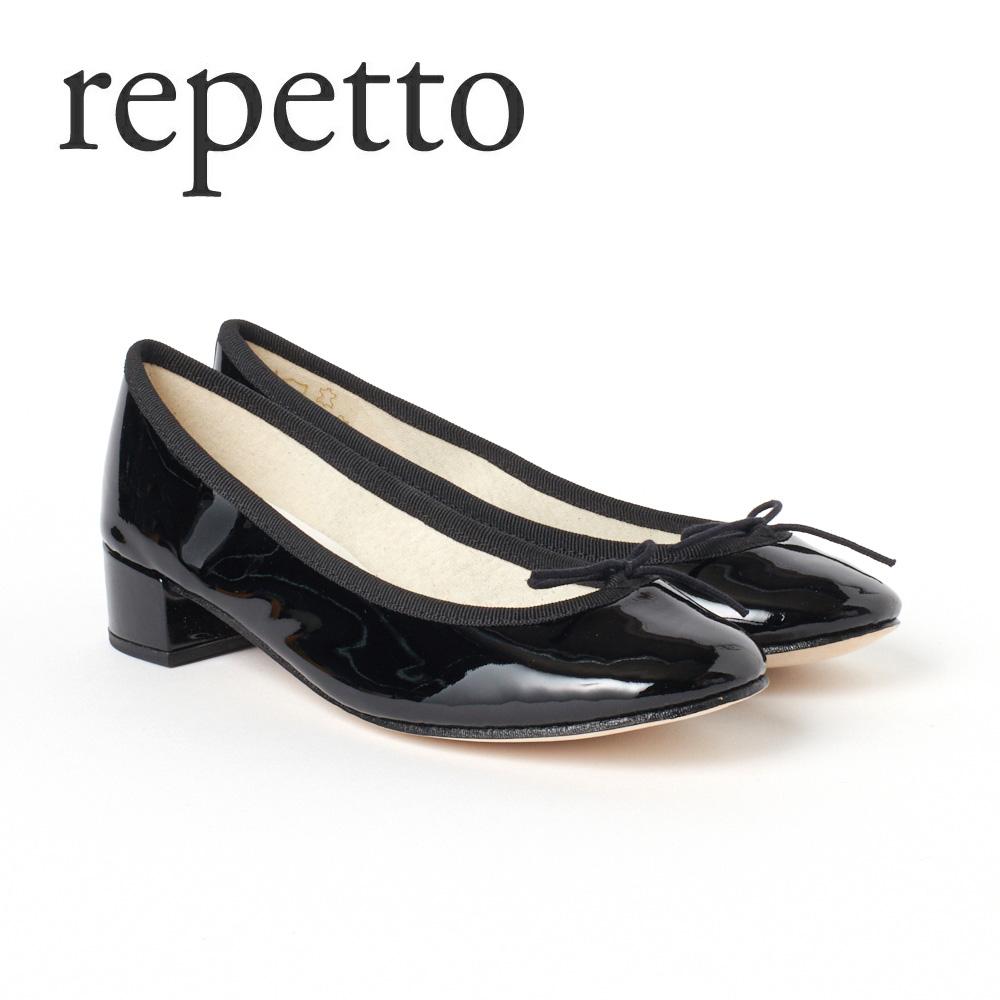 レペット レディスシューズ バレエシューズ REPETTO 【CAMILLE:カミーユ】 V511V ブラック(Noir/410)