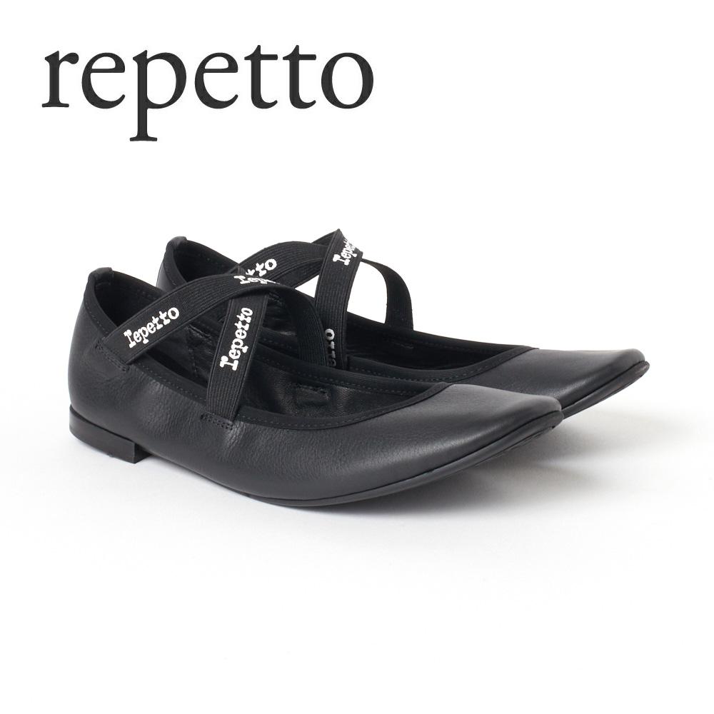レペット レディスシューズ バレエシューズ REPETTO 【JOANA】 V184VIP ブラック(Noir/410) 【fll】