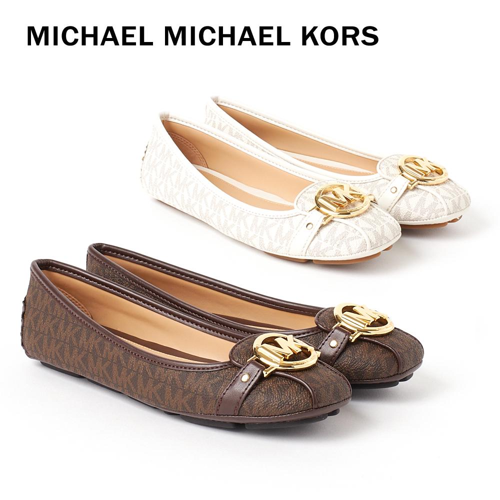 マイケル マイケルコース レディース パンプス フラットシューズ MICHAEL MICHAEL KORS FULTON MOC 40T5FUFR1B 【fll】