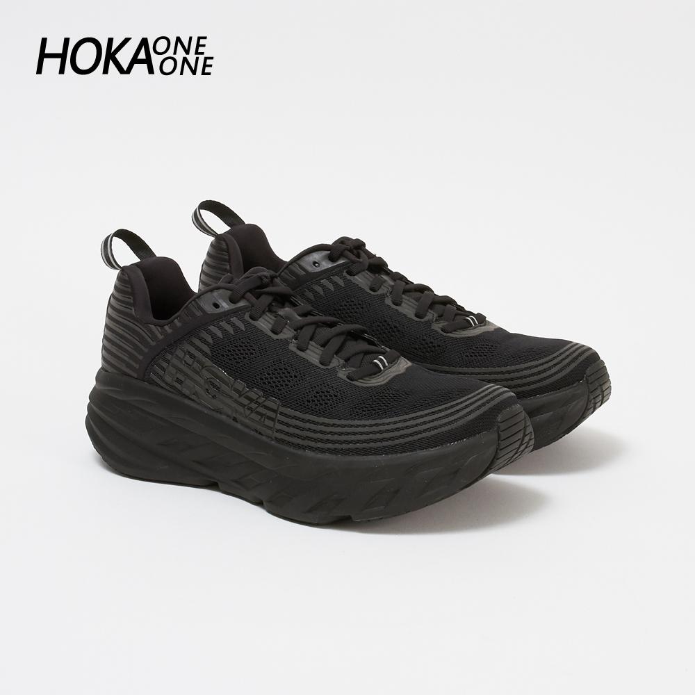 ホカ オネオネ メンズ スニーカー BONDI 6 1019269 ブラック BLACK/BLACK HOKA ONE ONE 【gdm】【zkk】