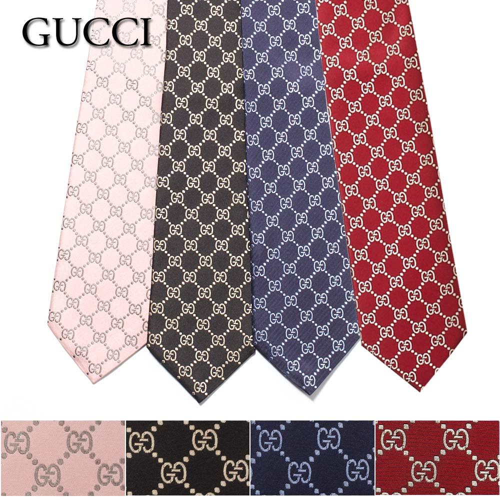 グッチ GUCCI ネクタイ ARGOS NARROW 499695 選べる3カラー
