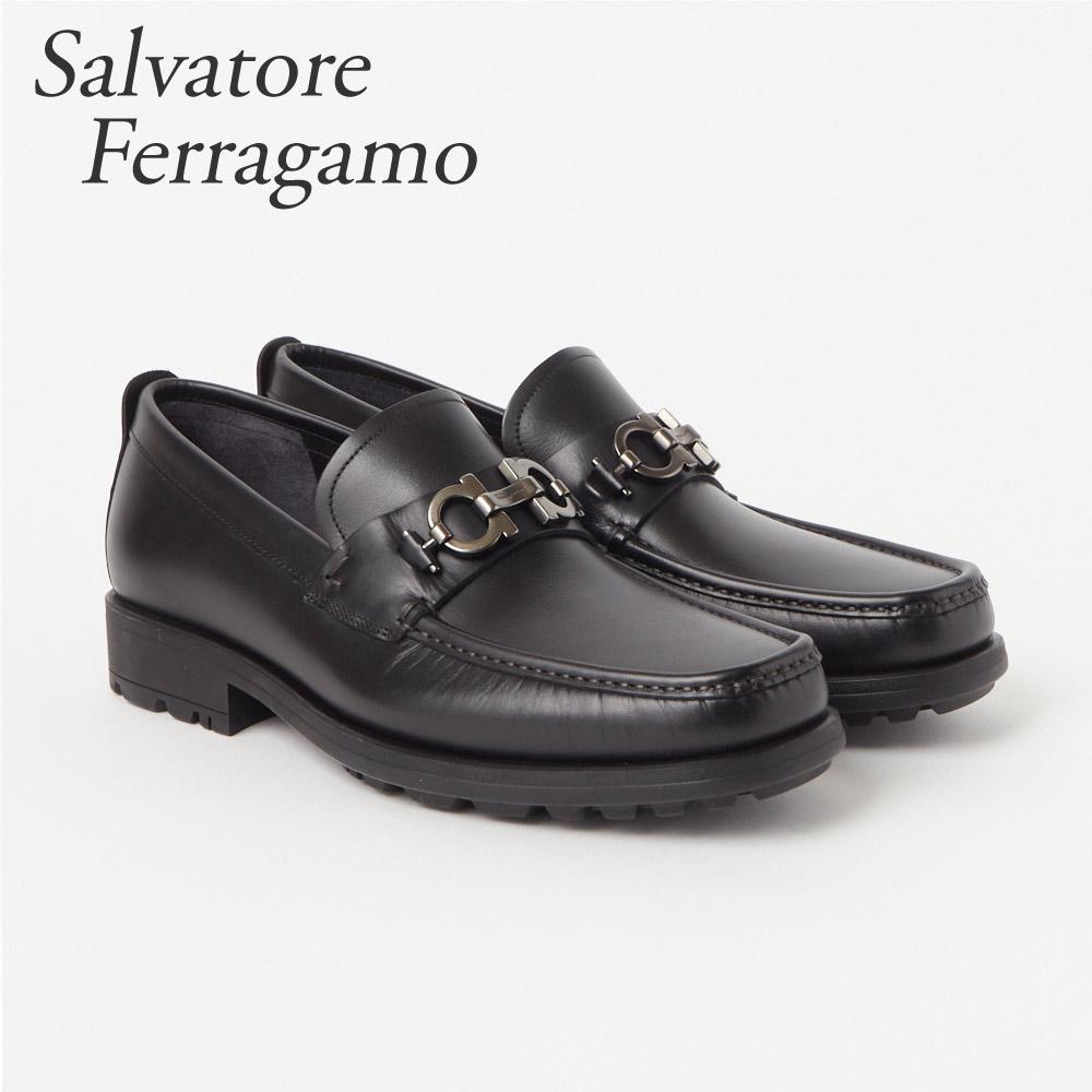 フェラガモ FERRAGAMO 靴 メンズ ビジネスシューズ ローファー DAVID 0671792 MIAMI NERO