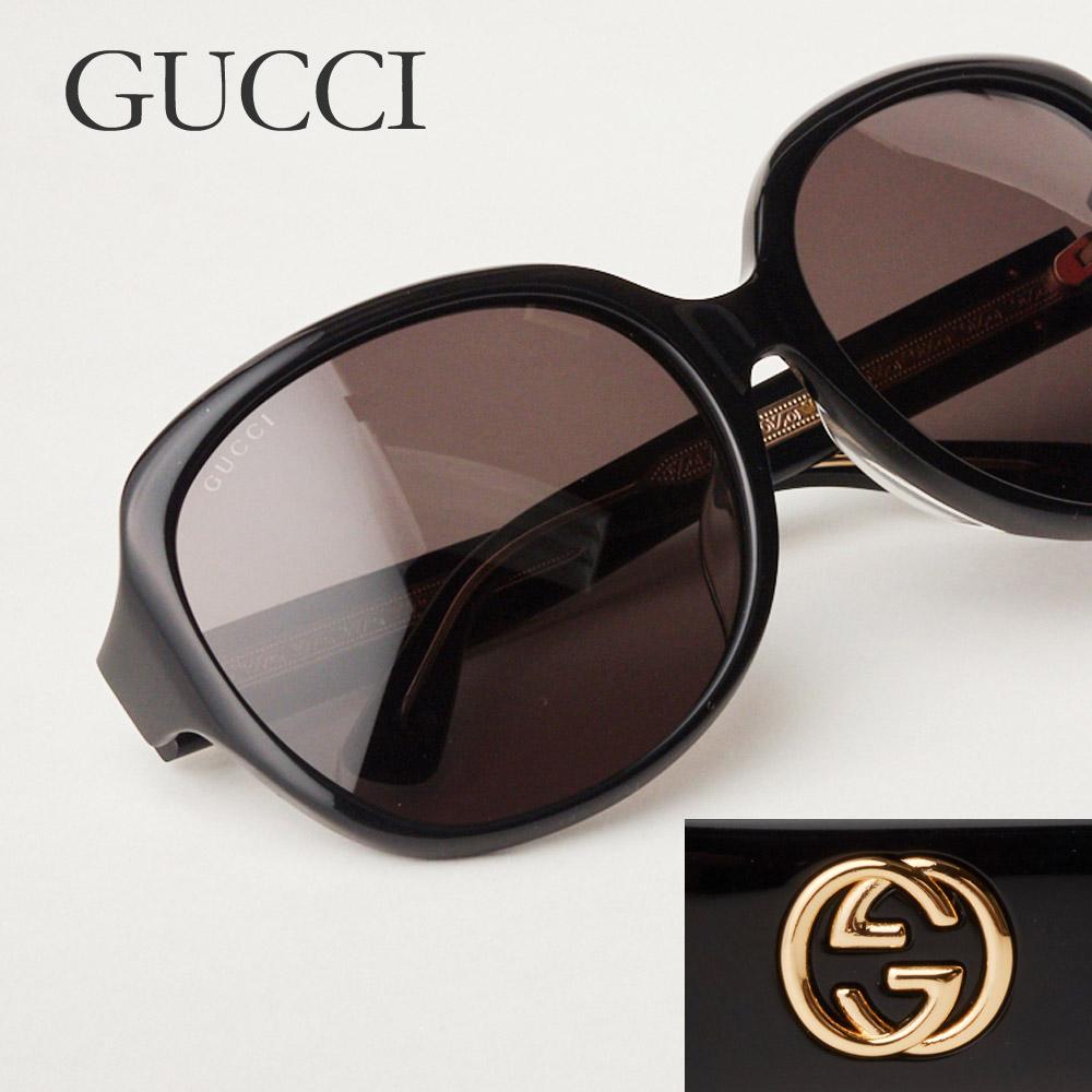 グッチ GUCCI サングラス レディース メンズ 0080 SK ブラック(001/BLACK) 【お取り寄せ】【sef】