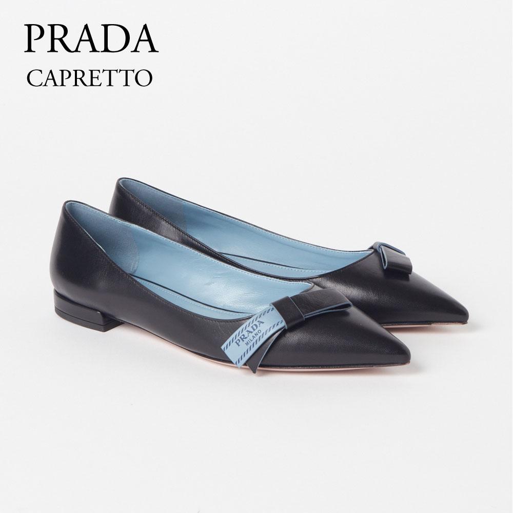 プラダ レディスシューズ パンプス PRADA 【CAPRETTO】 NERO 1F386I 011 F0002 【fll】