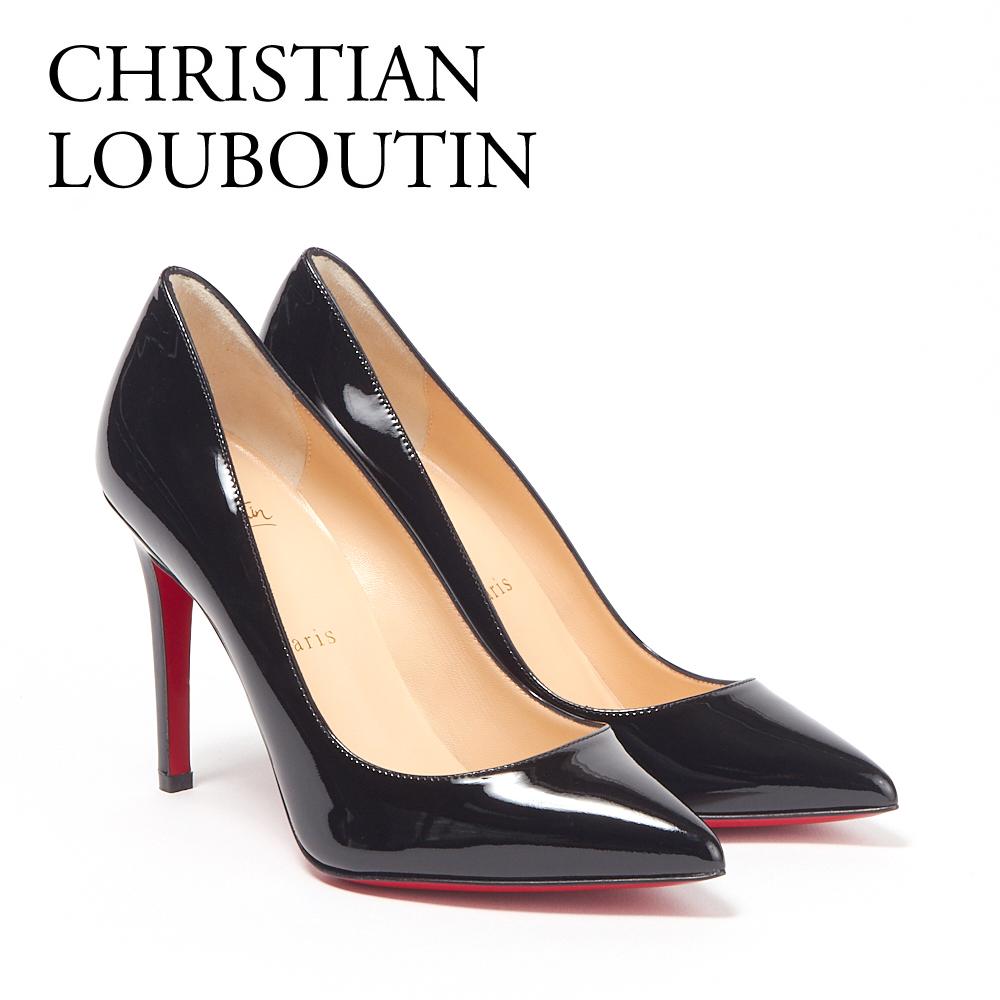 クリスチャンルブタン レディスシューズ パンプス CHRISTIAN LOUBOUTIN 3080680 PIGALLE 100 PATENT ブラック(BLACK) 【fll】