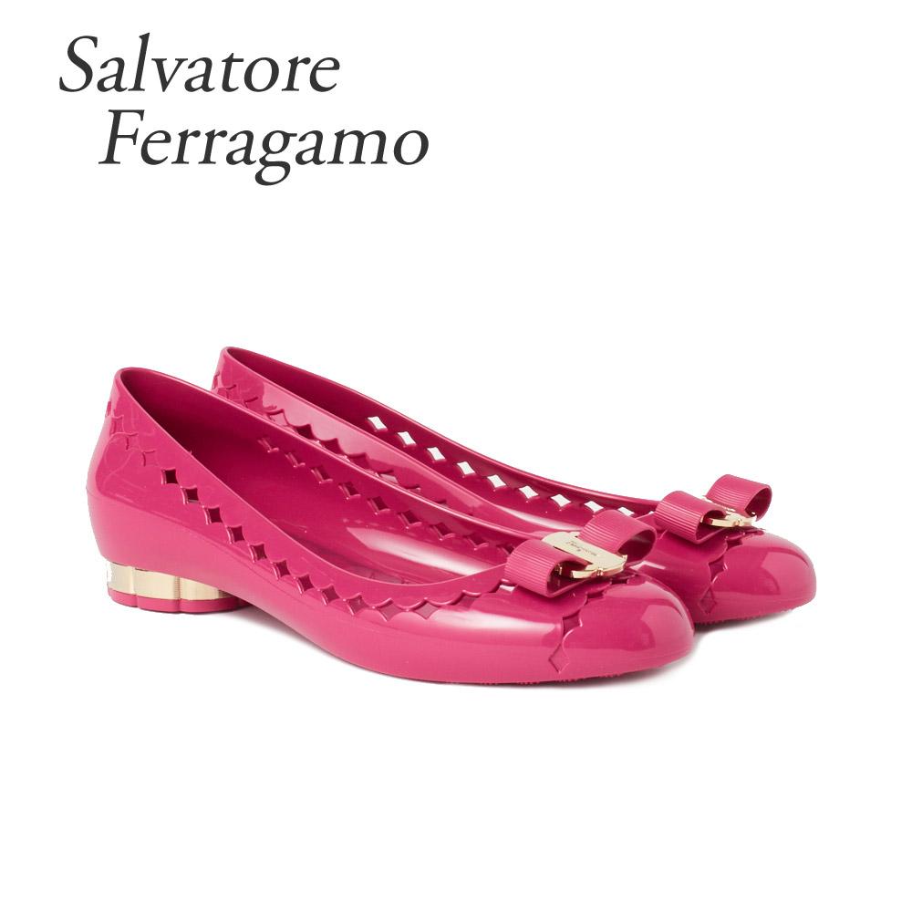 フェラガモ 靴 フラットシューズ FERRAGAMO 【JELLY】 035049 0686716 BEGONIA 【shl】【zkk】【sws】
