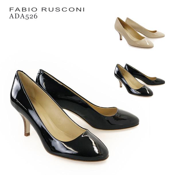 ファビオ ルスコーニ パンプス FABIO RUSCONI ADA526 VERNICE エナメル 選べるカラー
