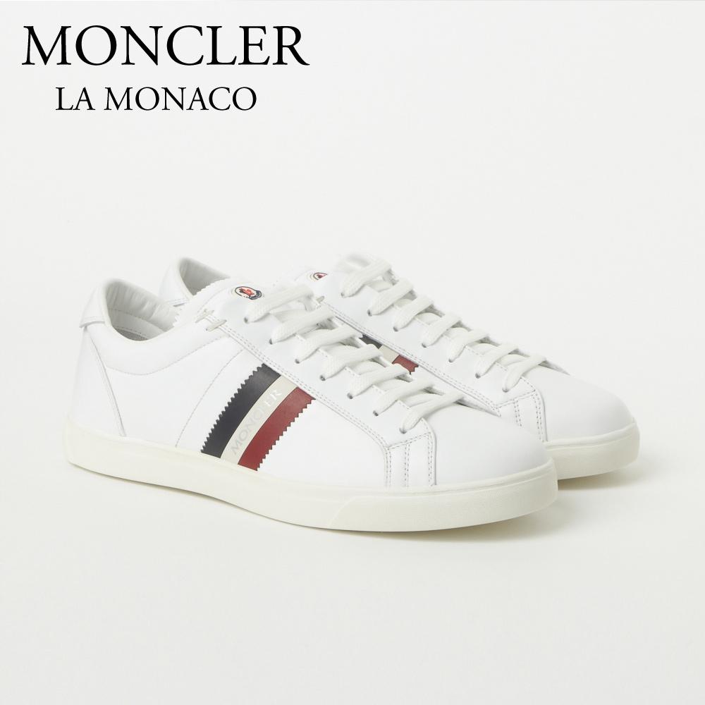 モンクレール MONCLER スニーカー LA MONACO 1017400 07870 002 WHITE