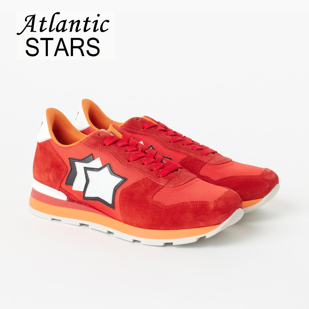アトランティックスターズ ATLANTIC STARS メンズ スニーカー ANTARES FR 85B レッド