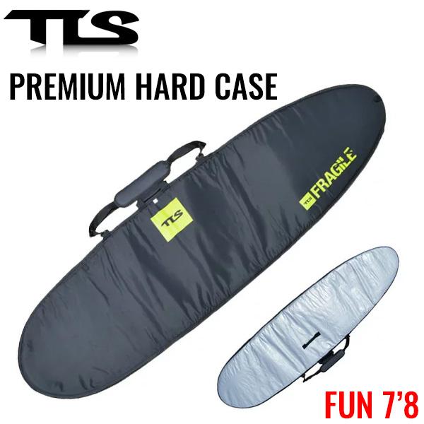 TOOLS サーフボードケース 7'8 ハードケース ベルクロロック ファンボード用 PREMIUM HARD CASE TLS ツールス サーフィン サーフボード