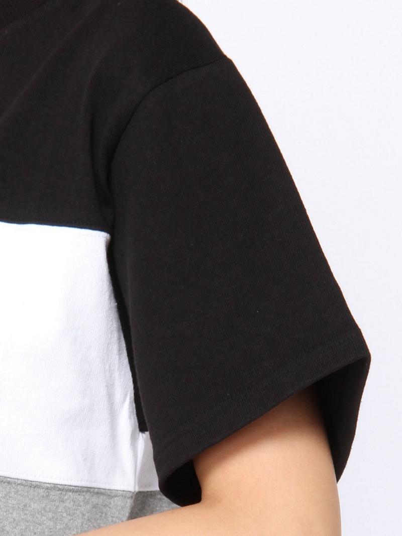 Rakuten FashionSALE 30 OFF TRI COLOR DRESS X girl エックスガール ワンピース ワンピースその他 ホワイト ブラック パープル RBA E送料無料Ybyvf6gI7