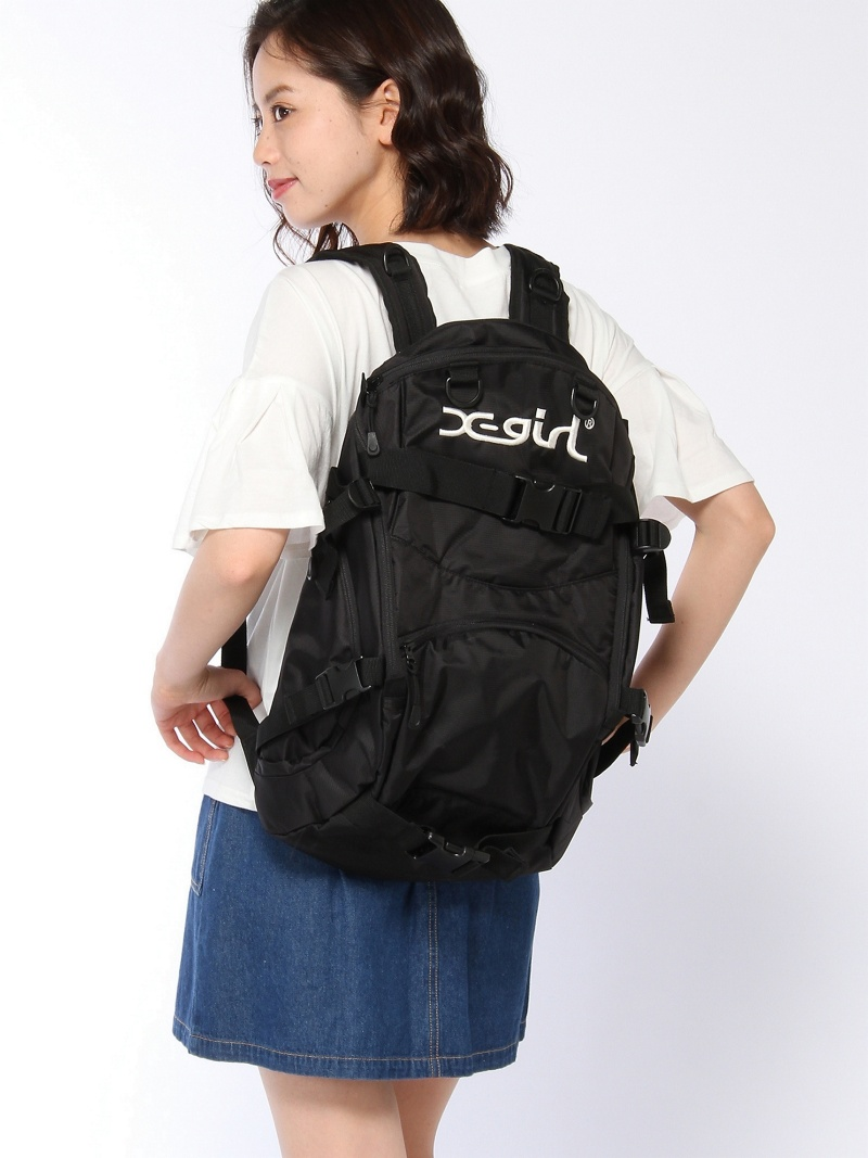[Rakuten BRAND AVENUE]LOGO SKATE BACKPACK X-girl エックスガール バッグ【送料無料】