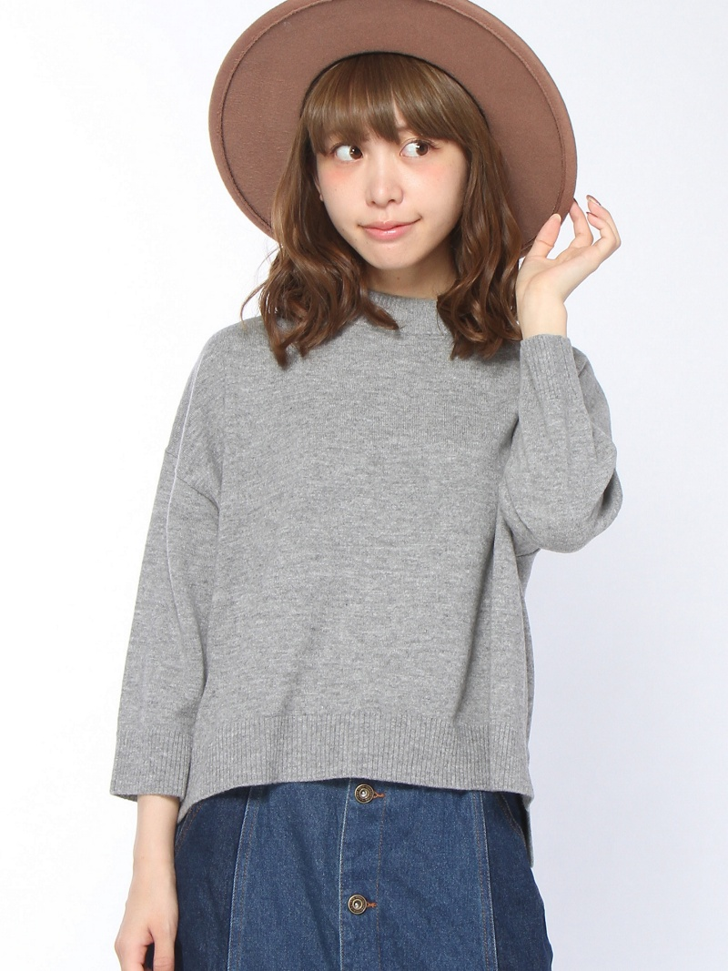 [Rakuten BRAND AVENUE]【SALE/27%OFF】MOCK NECK KNIT TOP エックスガール ニット【RBA_S】【RBA_E】【送料無料】