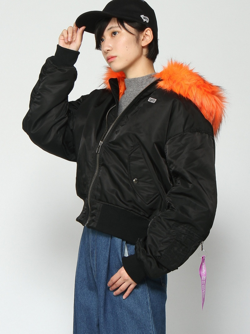 [Rakuten BRAND AVENUE]XG X YURINO HOOD MA1 エックスガール コート/ジャケット【送料無料】