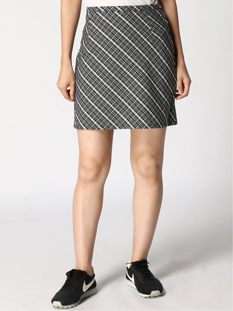 [Rakuten Fashion]CLASSIC PLAID SKIRT X-girl エックスガール スカート 台形スカート/コクーンスカート ブラック グリーン【送料無料】