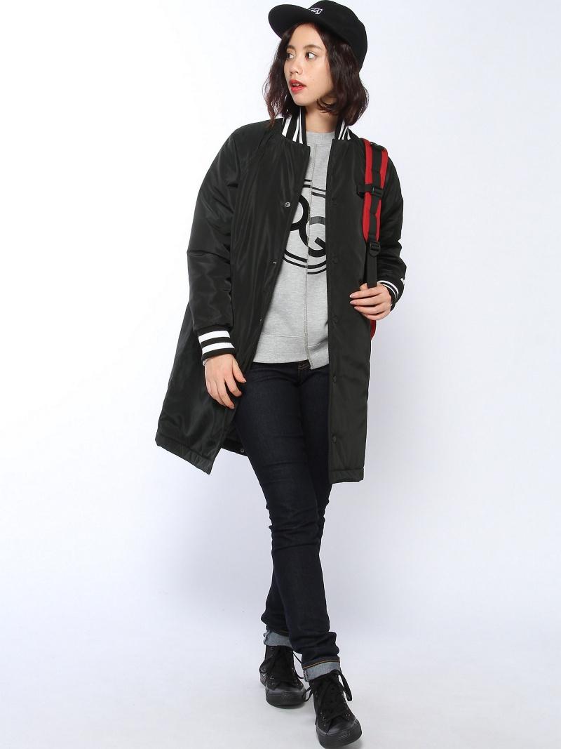 [Rakuten BRAND AVENUE]Xgirl×STARTER LONG COAT X-girl エックスガール コート/ジャケット【送料無料】