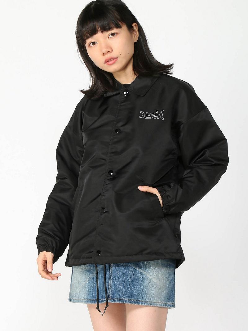 エックスガール X-girl コート/ジャケット【送料無料】 COACH SKATEBOARDS [Rakuten AVENUE]GIRL JACKET BRAND