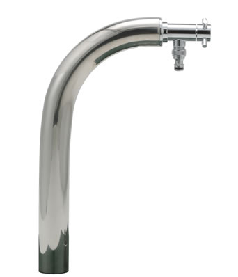 【送料無料】固定式水栓柱 スリムライン アングル