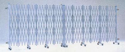 【代引不可】【送料無料】アルミゲート 間口W3m 高さ1.2m 片開き