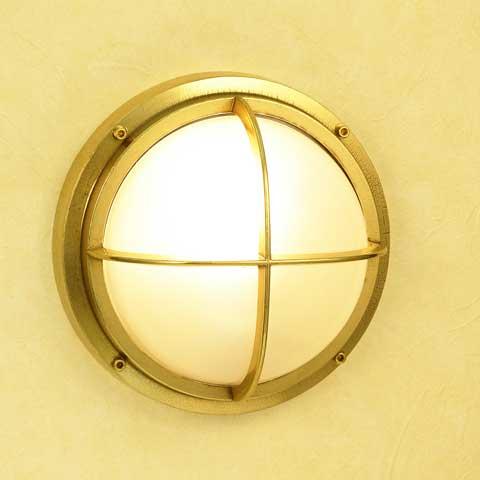 【送料無料】丸型ガーデンライト(大型)BH2226 FR(くもりガラス)