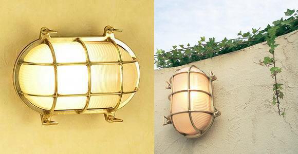 送料無料ガーデンライト真鍮クリアー BH2034