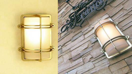 送料無料ガーデンライト真鍮クリアー BH2373