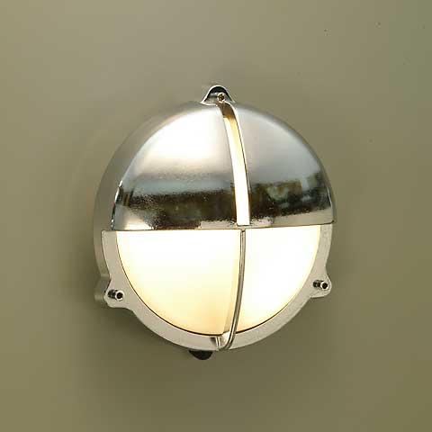 【送料無料】丸型ガーデンライトBH2428 CR FR(くもりガラス)