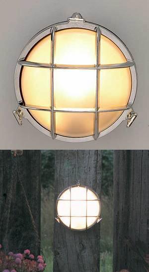 送料無料ガーデンライト真鍮クローム BH2028