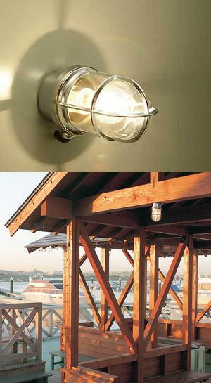 送料無料ガーデンライト真鍮クローム BH2296