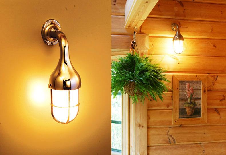 【送料無料】リビングや廊下を照らすライトにもこだわりをマリンブラケットライト