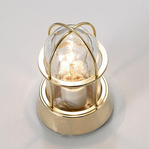 【送料無料】ガーデンライト真鍮磨き仕上げ